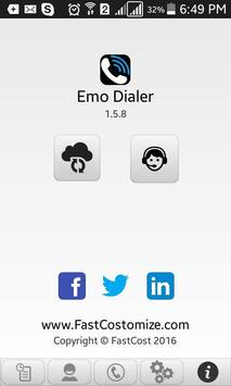 Emo Mobile Dialer apk screenshot