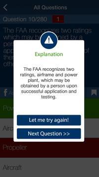 AMT: Aviation Technician Exam apk screenshot