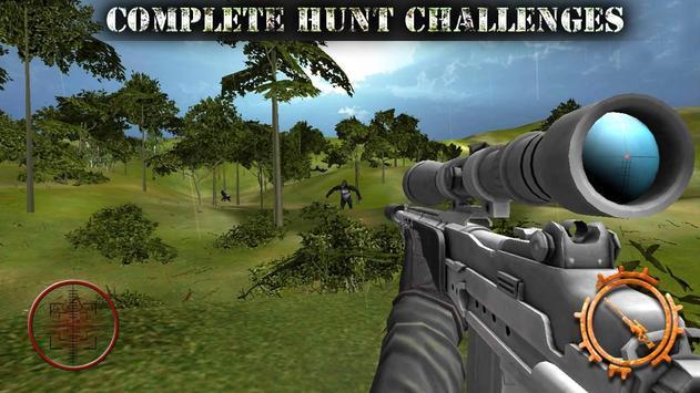 Gorilla Animal Hunting - Free apk screenshot