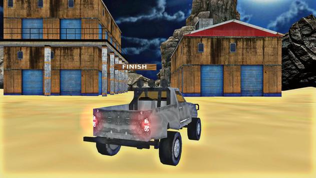 Desert Rally Offroad Truck poster