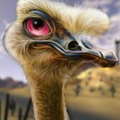 Ostrich Hunter Shotgun Shooter icon