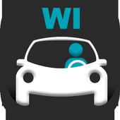 Wisconsin DMV Permit Test icon