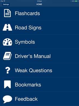 Wisconsin DMV Permit Test apk screenshot