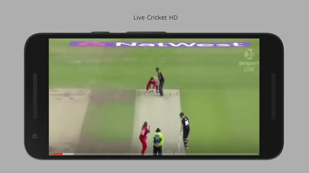 Live Cricket HD poster
