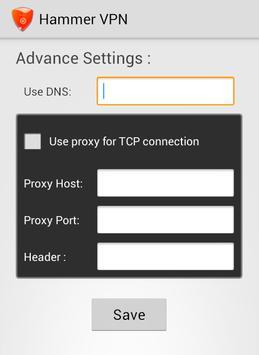 Hammer VPN screenshot 3