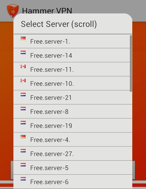 Hammer VPN for Android - APK Download