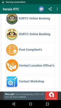Kerala RTC screenshot 1