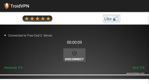 Troid VPN  Free VPN Proxy screenshot 8