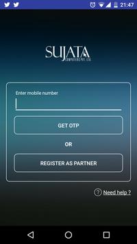 Sujata Customers Connect apk screenshot