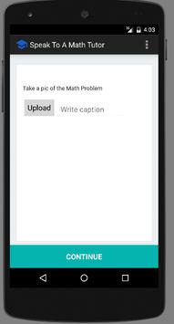 Live Math Tutor in 60 secs apk screenshot