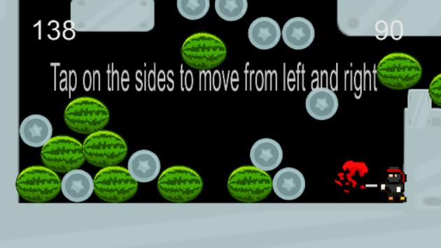 Ninja fruit smasher screenshot 2