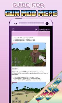 Gun Mods Minecraft 0.14.0 Wiki poster