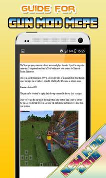 Gun Mods Minecraft 0.14.0 Wiki apk screenshot