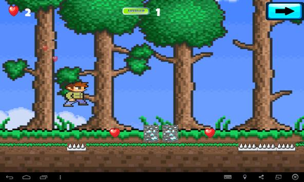 Subway Terrarias Run Pixel apk screenshot