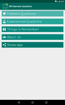 HR Interview Questions Answers screenshot 5