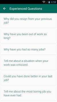 HR Interview Questions Answers 스크린샷 3