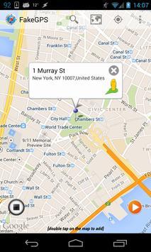 Fake GPS Location Spoofer Free captura de pantalla 13