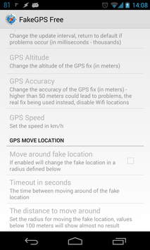 18 Schermata Fake GPS Location Spoofer Free