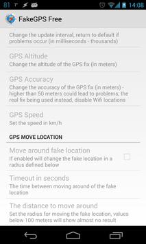 5 Schermata Fake GPS Location Spoofer Free