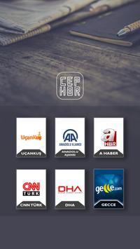 CEP HABER apk screenshot
