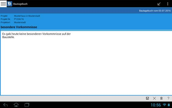 Bautagebuch screenshot 11