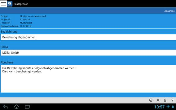 Bautagebuch screenshot 12