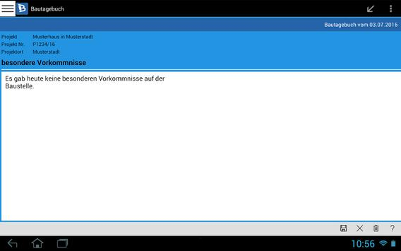 Bautagebuch screenshot 19