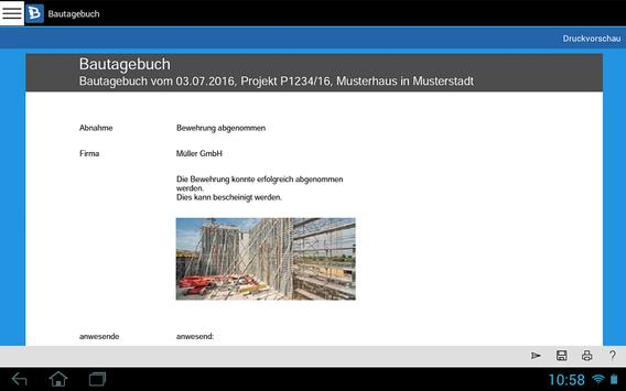Bautagebuch screenshot 22