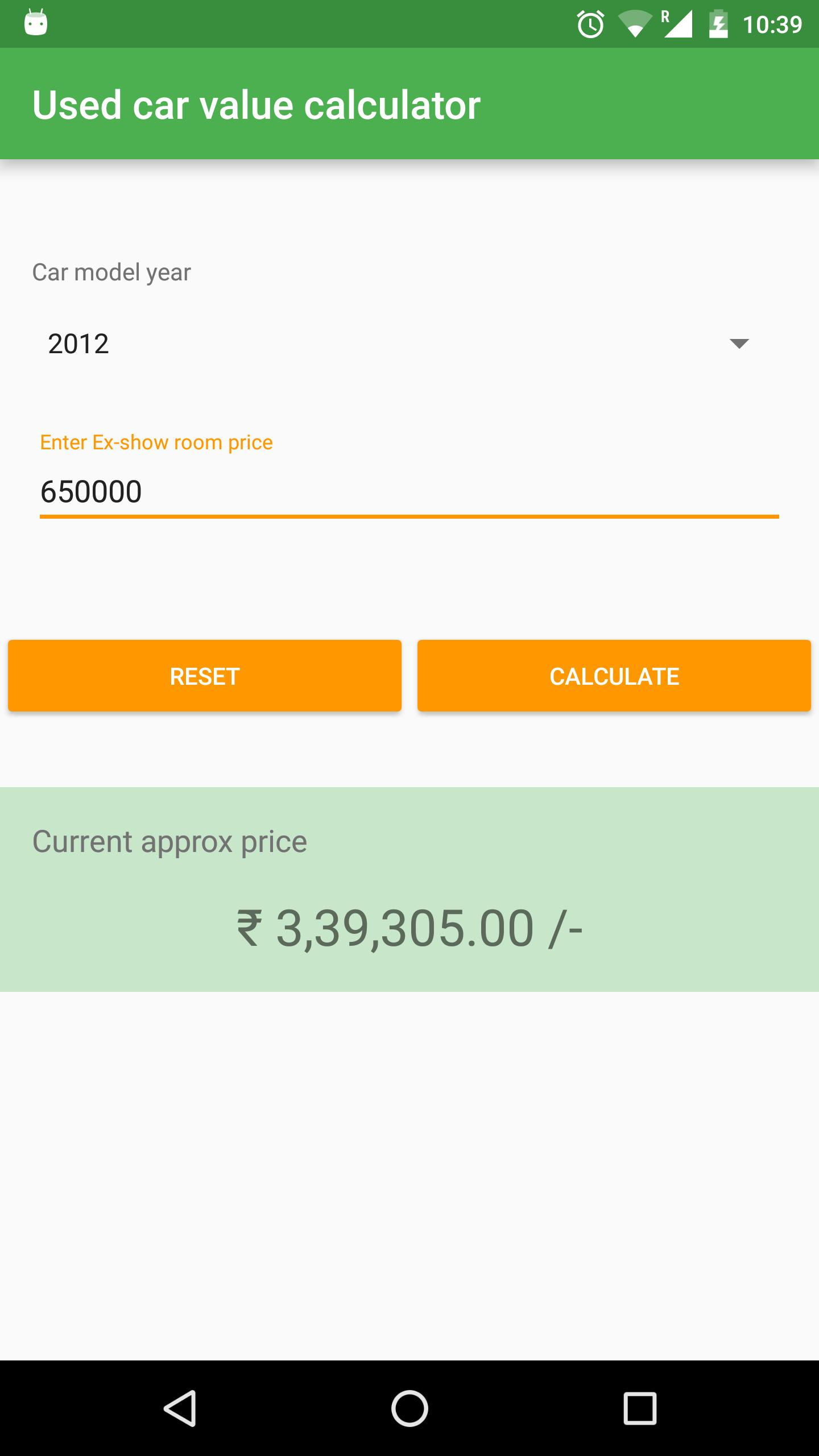 Used Car Value Calculator For Android Apk Download