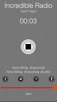 incredibleradio screenshot 1