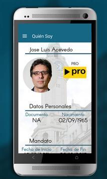 José Luis Acevedo poster