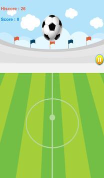 Keep Up The Soccer ball screenshot 1