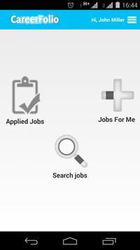 CareerFolio apk screenshot