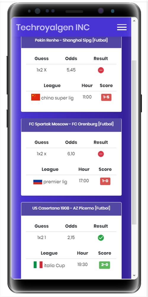 Best Free Royal Soccer Betting Tips App for Android - APK