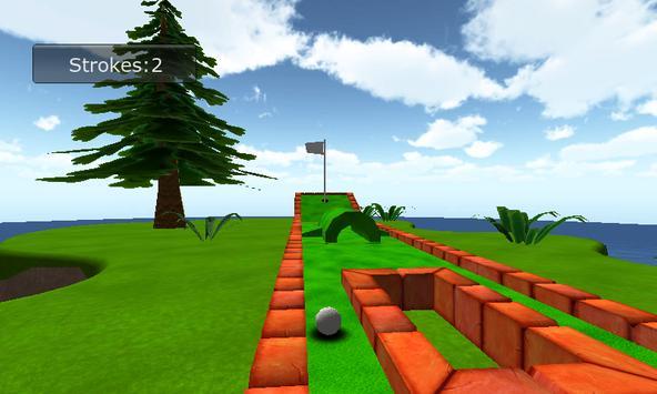 Mini Golf 3D poster