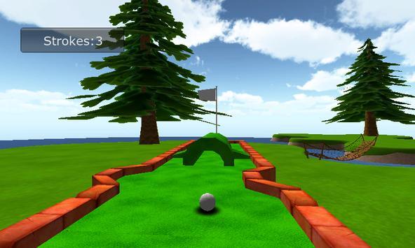 Mini Golf 3D apk screenshot