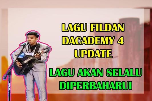 Lagu Fildan D-Academy 4 Update poster