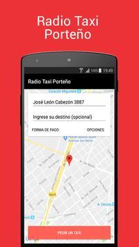 Radio Taxi Porteño - Pasajeros screenshot 1