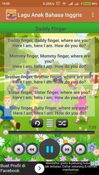 Lagu Anak Bahasa Inggris screenshot 2