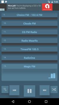 Tanzania Radio Stations poster