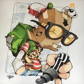 Graffiti Character icon