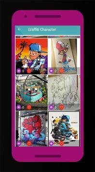 Graffiti Character poster