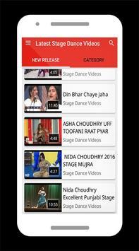 Latest Stage Dance Videos apk screenshot