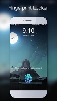 Fingerprint LockScreen Frank apk screenshot