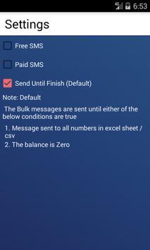 Bulk SMS screenshot 3