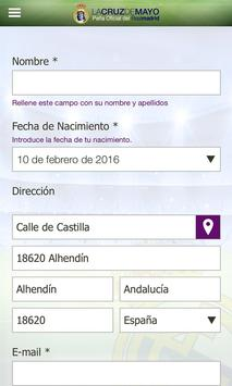 Peña Madridista Cruz de Mayo screenshot 1
