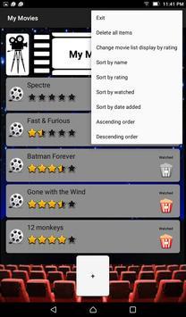 My Movies apk screenshot