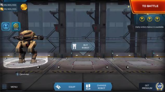Cheat for War Robots apk screenshot