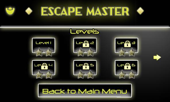 Escape Master screenshot 1