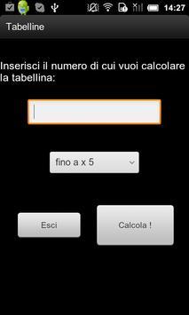 Tabelline apk screenshot